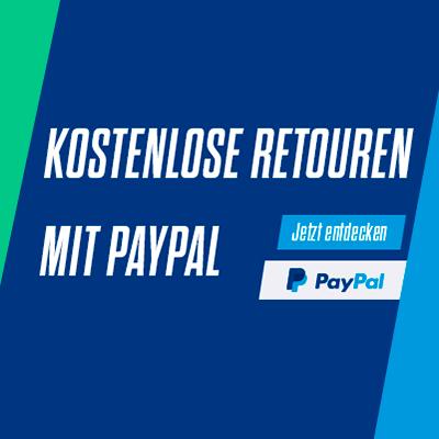 Kostenlose Retouren mit Paypal